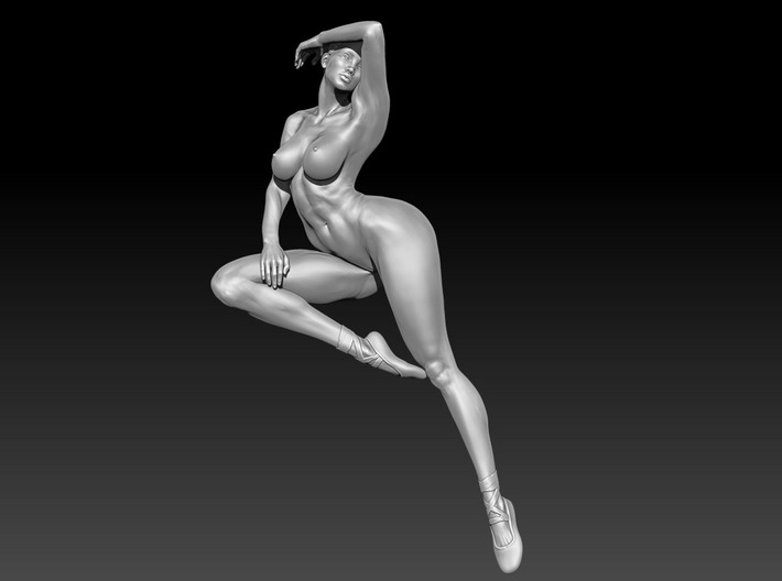 Dance Girl 001 in 32CM 3d printed