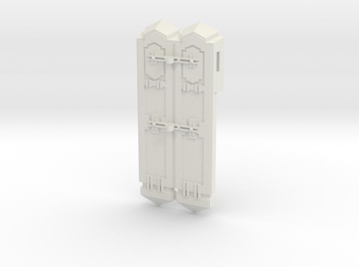 Facade Stanchion End Unit 3d printed