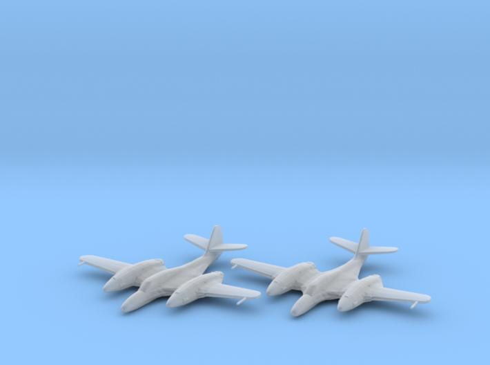 McDonnell XP-67 'Moonbat' 1:200 x2 FUD 3d printed