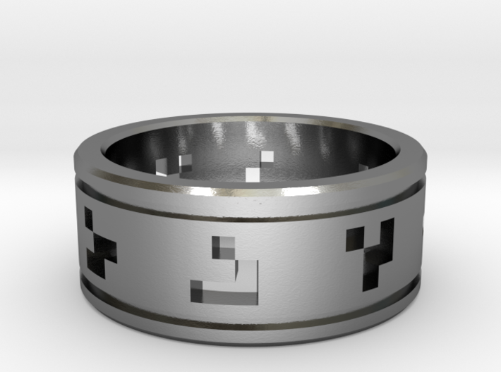 Glider Ring 3d printed