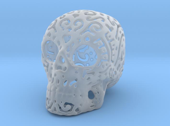 Skull Fine Pattern 3d printed