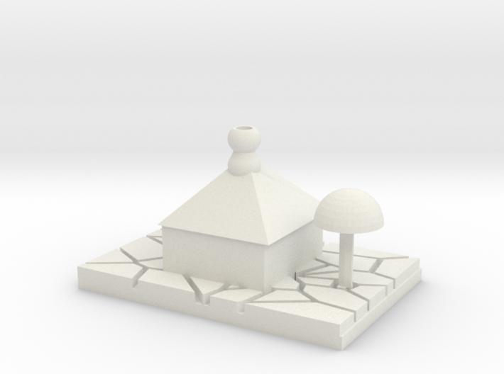 Casa Desierta - Desert House 3d printed