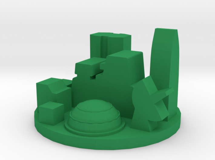 Game Piece, Future City 3d printed