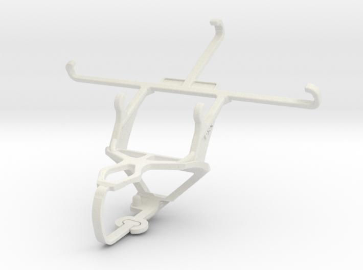 Controller mount for PS3 & Panasonic Eluga Arc 2 3d printed