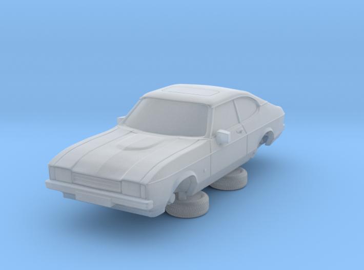 1-76 Ford Capri Mk2 Standard 3d printed