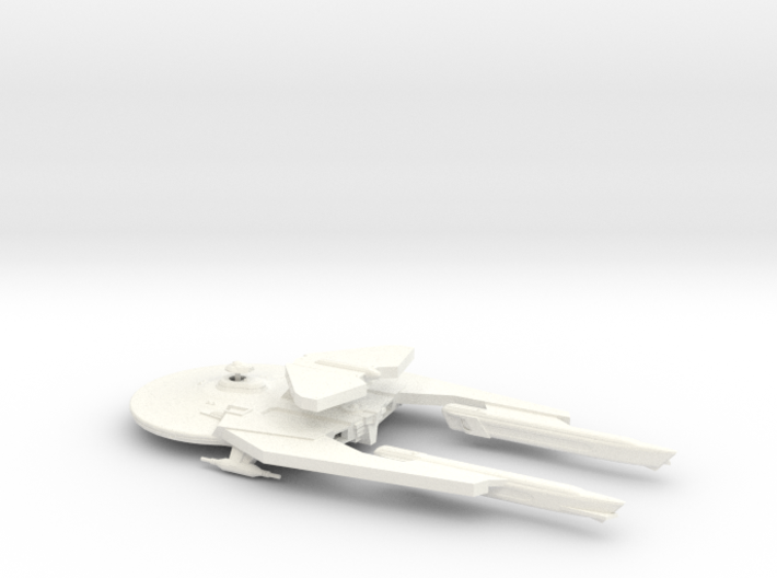 Smooth Iroquois class 2500 3d printed