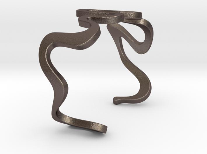 SNAKE cuff 3d printed