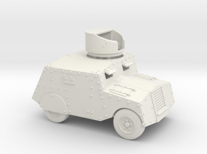 Beaverbug (1/43 scale, 40mm) 3d printed