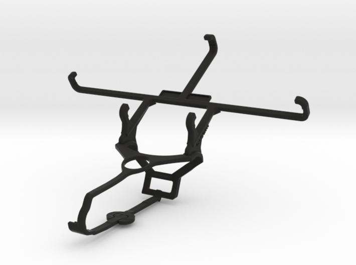 Steam controller & ZTE Axon - Front Rider 3d printed