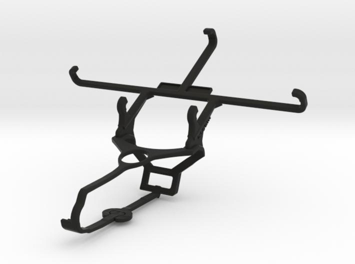 Steam controller & ZTE Axon mini - Front Rider 3d printed