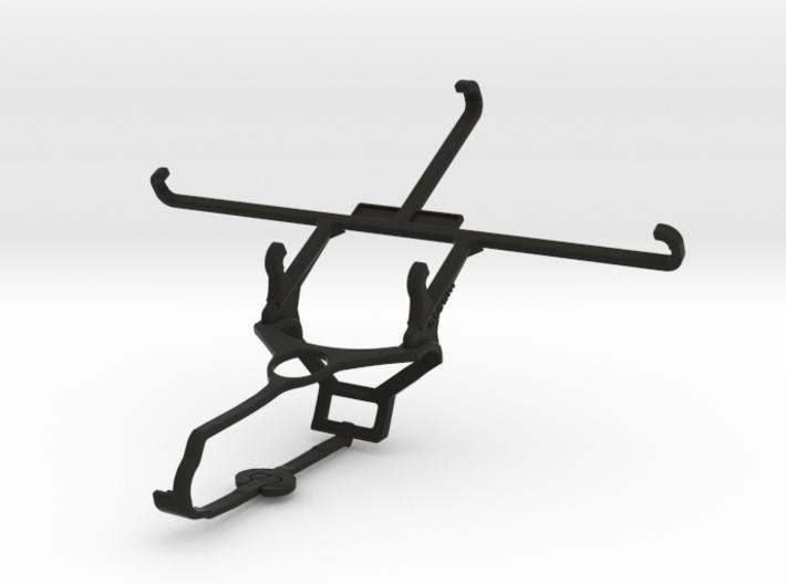 Steam controller & ZTE Axon Max - Front Rider 3d printed