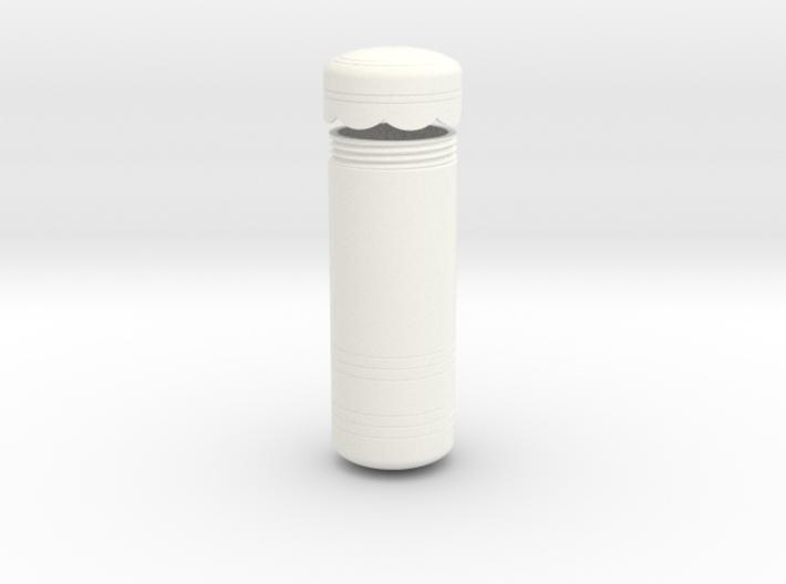 Rey's Shoulder Canister 3d printed
