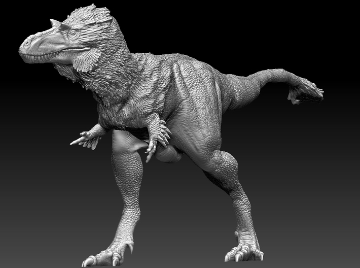 1:40 scale Gorgosaurus 3d printed