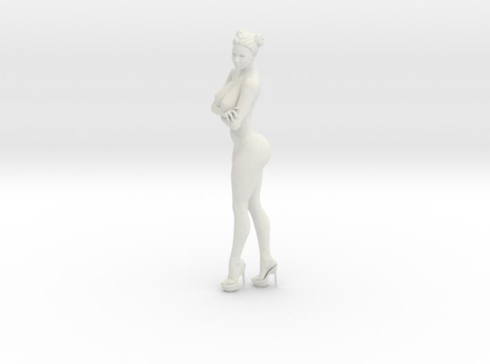 Heels Girl 002 Scale 1/12 3d printed