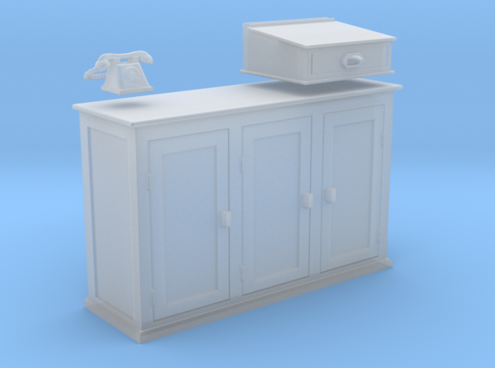 EP76 Signalmans Cabinet 3d printed
