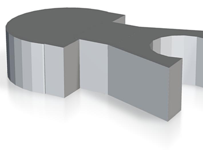 Quadrangular Basket Adapter-STL 3d printed