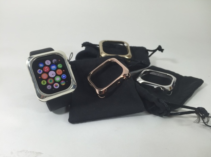 Apple Watch 2  Metal Bumper 42mm 3d printed