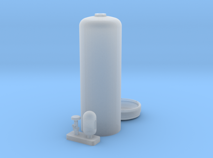 Acetylene Cylinder 1/35 3d printed