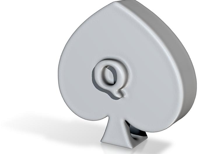 QoS Pendant 3d printed