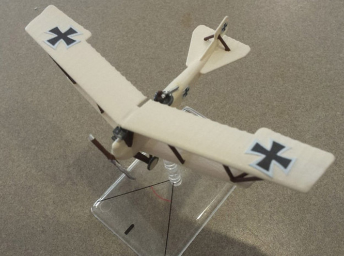 Lohner B.VII (armed, various scales) 3d printed Paint job and photo courtesy clipper1801 at wingsofwar.org
