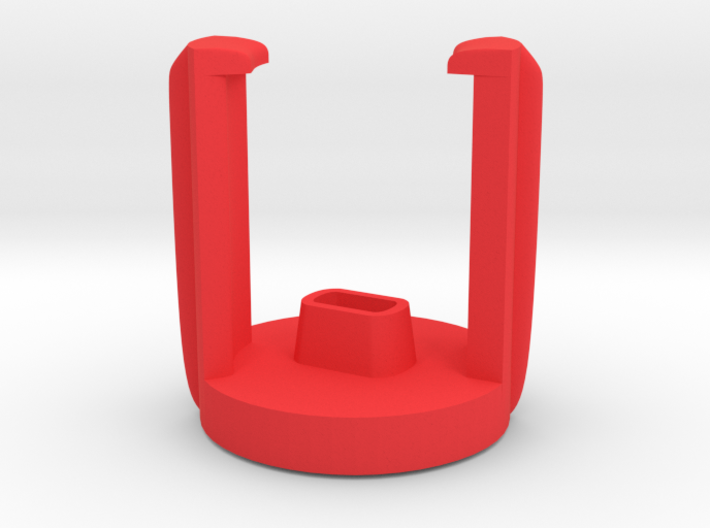DJI INSPIRE holder for 2 RED Propellers 3d printed