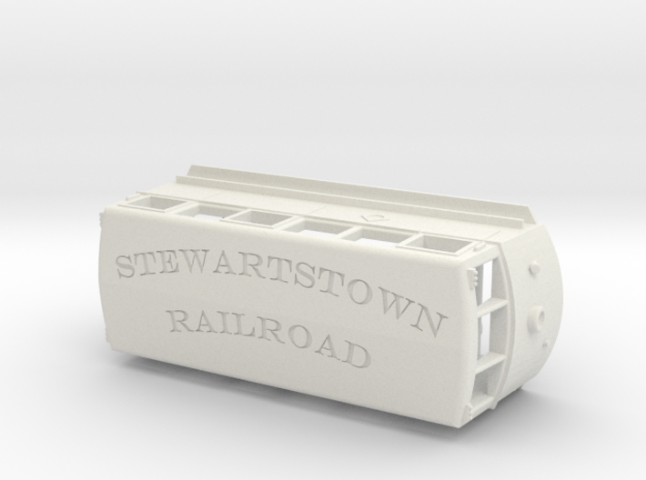 1936 ERIE Railbus #300 Stewartstown RR V2 3d printed