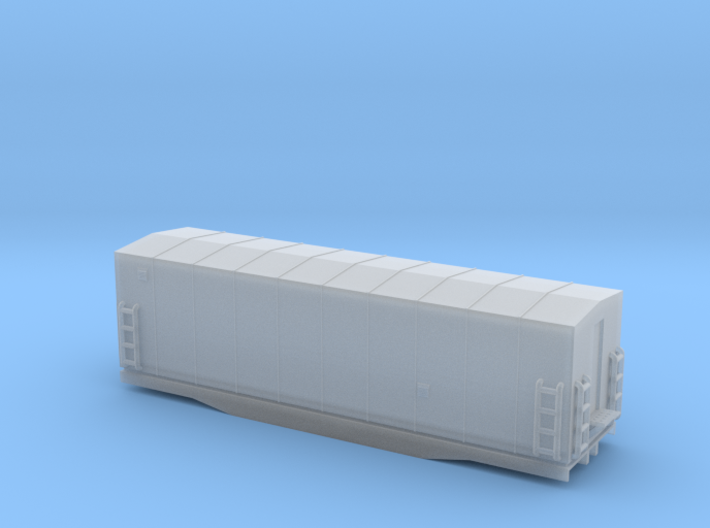 Southern Railway Radio Car - Nscale 3d printed