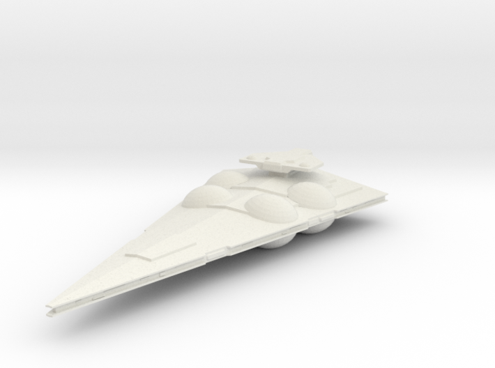 Interdictor-class Medium Frigate 3d printed