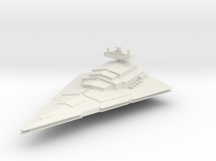 Star Destroyer 3d printed