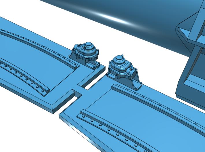 1/35 Torpedo Tubes (forward) for PT Boats 3d printed