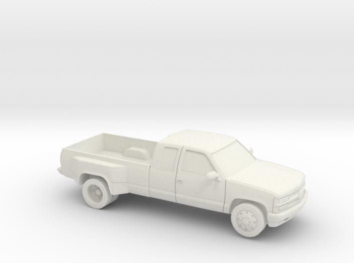 1/87 1994 Chevrolet Silverado Ext Dually 3d printed
