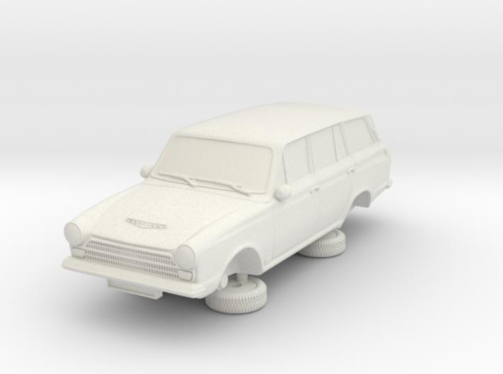 1-76 Ford Cortina Mk1 4 Estate 3d printed
