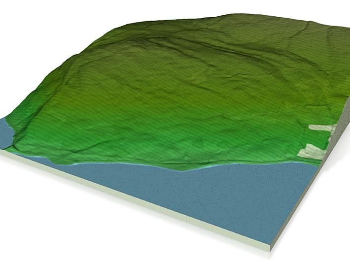Terrafab generated model Tue Nov 05 2013 21:50:30 3d printed