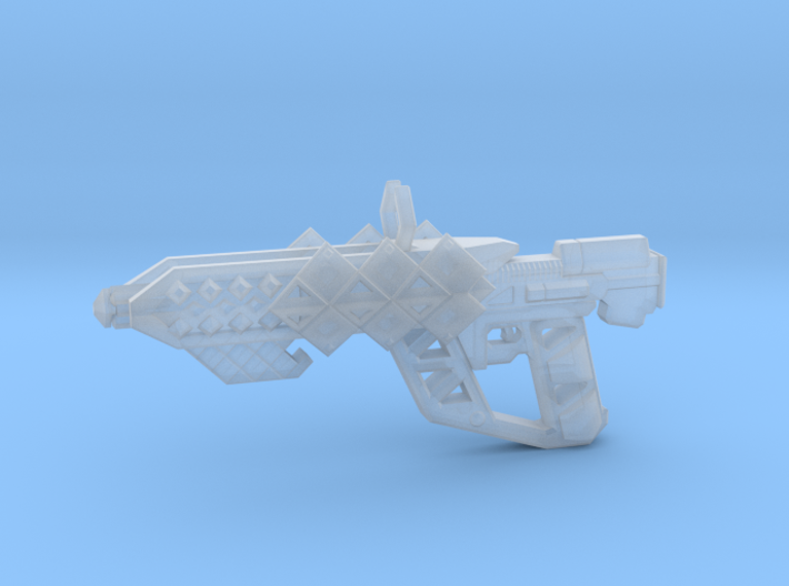 Outbreaker Rifle 3d printed