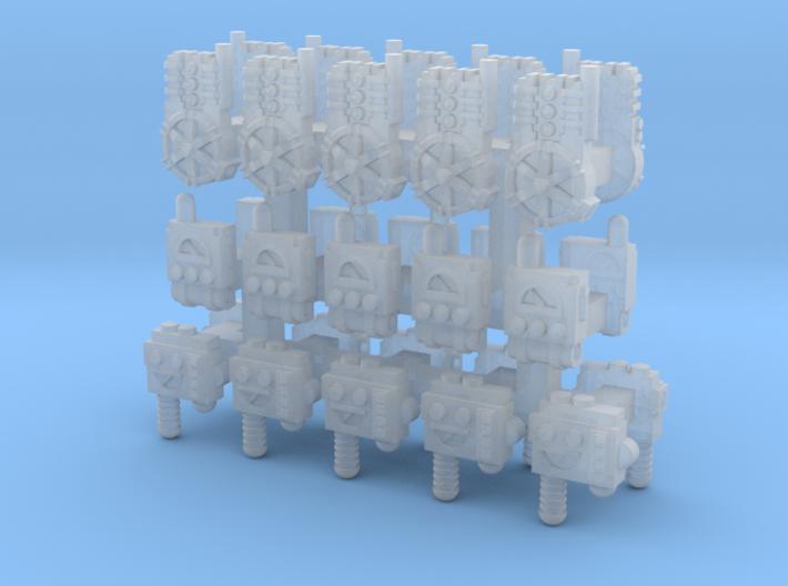 15mm Arc Generator Packs (30pcs) 3d printed