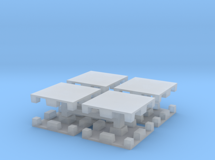 15mm Plastic Pallet Group 3d printed