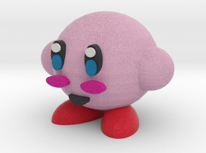Kirby 3d printed