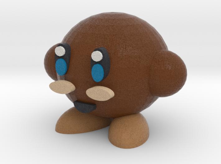 Brown Kirby 3d printed
