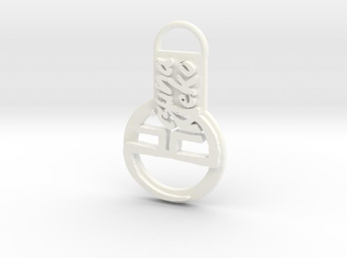 Kizuneneko Keychain 3d printed