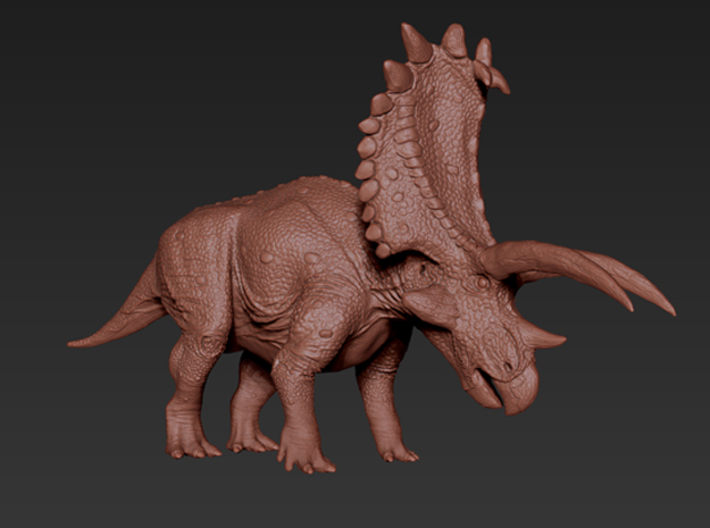 Pentaceratops (Medium/Large size) 3d printed