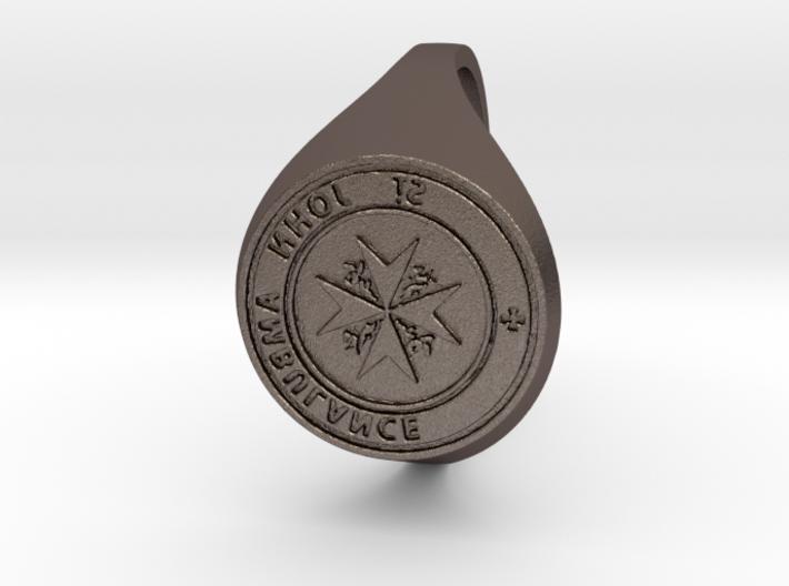 St. John Signet Ring reverse 3d printed