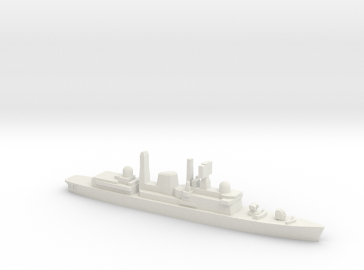 Type 42 DDG (Falklands War), 1/2400 3d printed