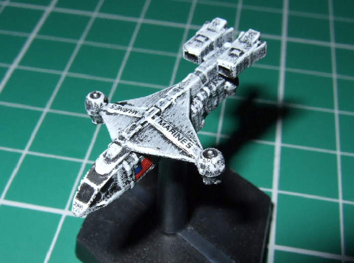 """1/1000 Scale ISSCV """"Dragonfly"""" 3d printed Scouls502 says: Excellent model."""