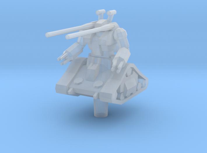 RX-75 Guntank 1:1000 3d printed