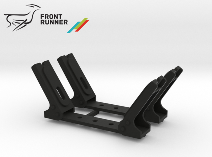 FR10005 Front Runner Canoe Carrier 3d printed Parts as they come from Shapeways.