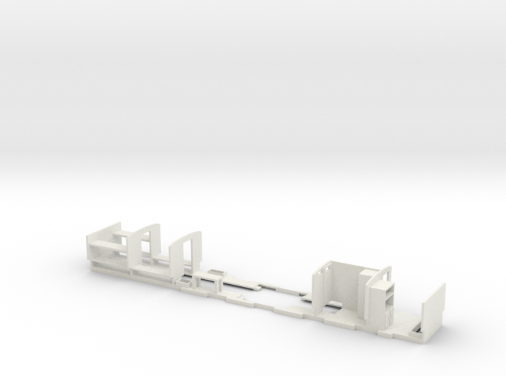 Camp Coach Partitions For Hornby Short Clerestory 3d printed