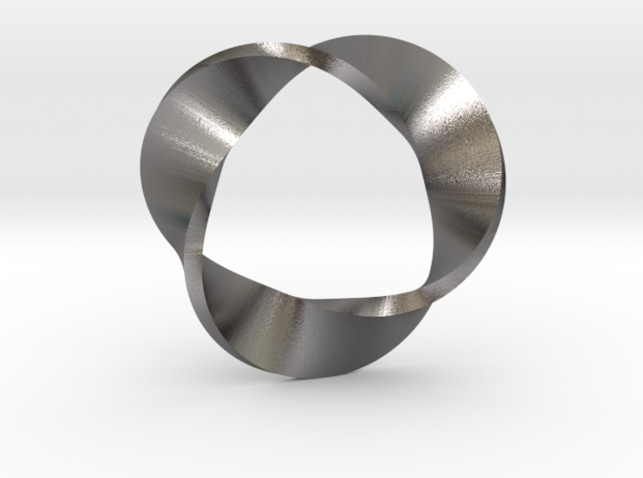 Mobius Strip three twists 3d printed