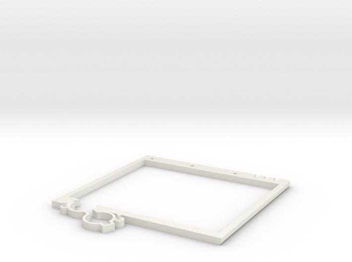 Lower Plate Screen - Game Boy Zero 3d printed