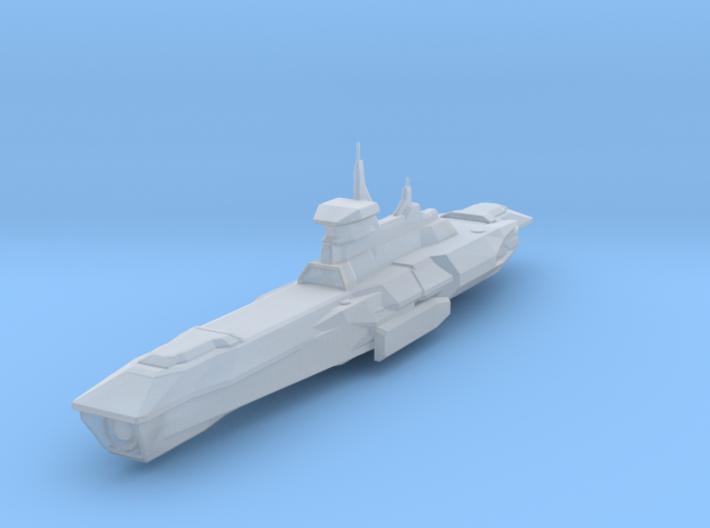 Araan Dynasty Light Cruiser 3d printed