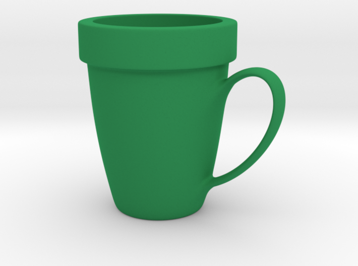 Coffee mug #9 - Super Mario warp pipe 3d printed